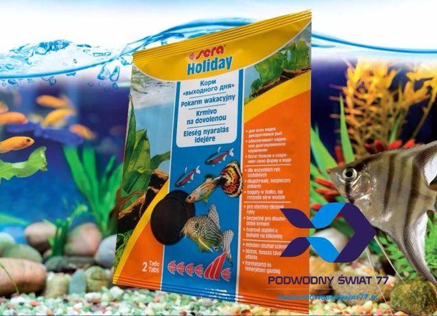sera Holiday pokarm wakacyjny dla ryb - akwarium