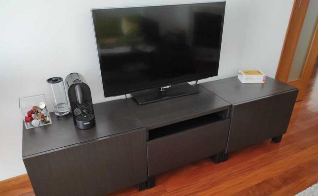 3 módulos IKEA BESTA 60x38x40cm