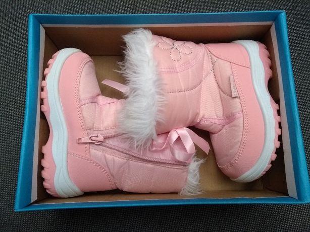 Kozaki buty dziecięce zimowe rozmiar 23 WYSYŁKA