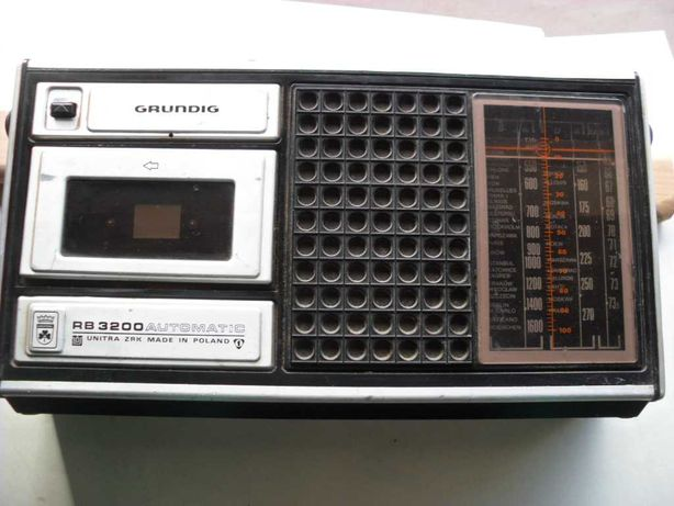 Grundig radiomagnetofon rb 3200