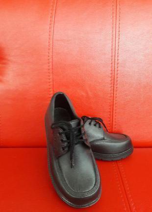 Туфли кожаные Лохвица - изображение 1