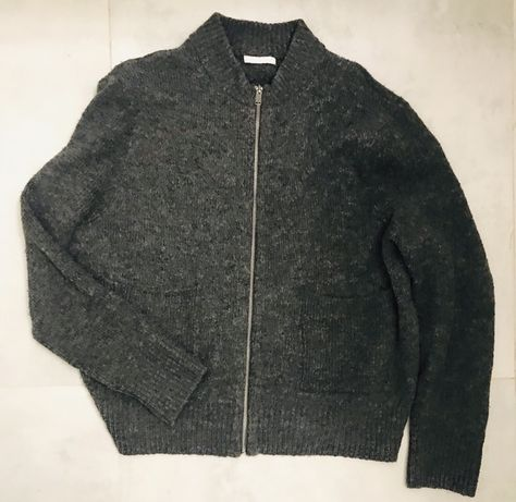modny sweter na suwak kardigan H&M