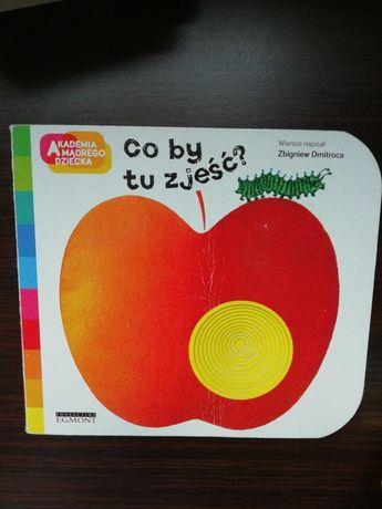 Książka 'Co by tu zjeść' z serii Akademia Mądrego Dziecka