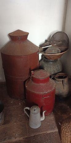 Potes de azeite antigos