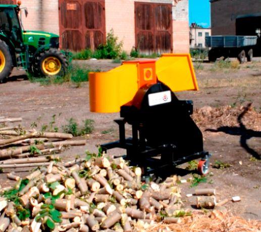 Измельчитель веток, дробилка дерева-120D