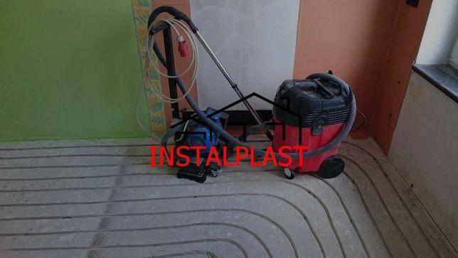 Ogrzewanie podłogowe Frezowanie w gotowych wylewkach Hydraulik komplet