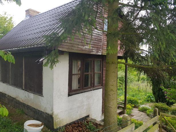 Działka rekreacyjna ROD na Osowie z domkiem Szczecin Osów