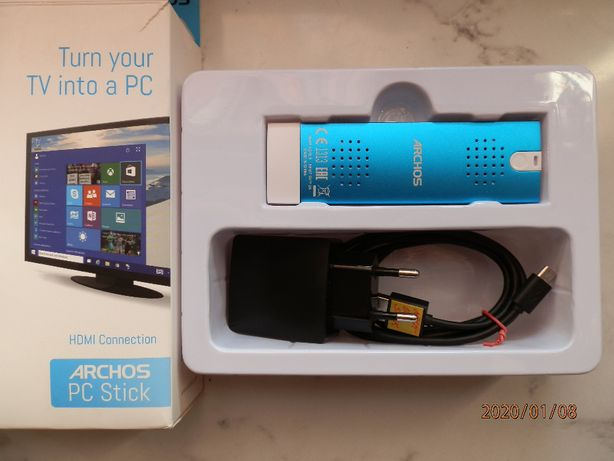 Nowy micro-komputer Archos PC Stick TV Stick Intel + Windows 10
