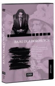 Bajki dla dorosłych część 2,3,4,5 HIT TVP DVD J.KOBUSZEWSKI