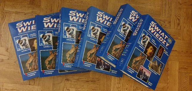 Świat Wiedzy - 6 tomów