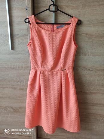 Rozkloszowana sukienka 36