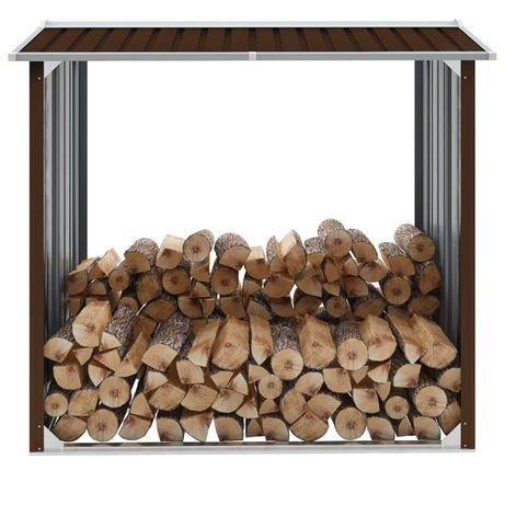 Abrigo para arrumação de troncos aço NOVO **envio grátis**