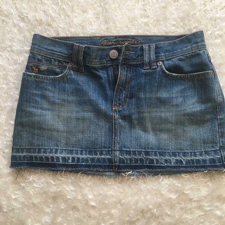 Джинсовая мини-юбка от A&F