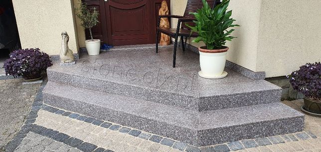 Stopień Granitowy 150x33x2cm Schody Granitowe Granit Płyty Stopnie