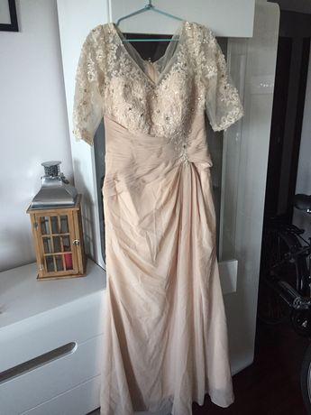 Suknia wizytowa np.dla mamy weselnej
