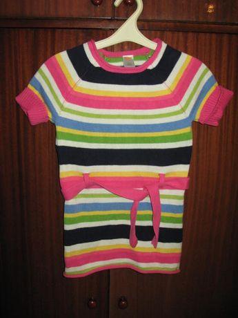 платье без рукав трикотаж gymboree оригинал китай, размер 7-8 лет