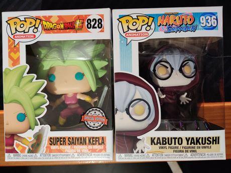 Funko Pop Naruto e Dragon Ball