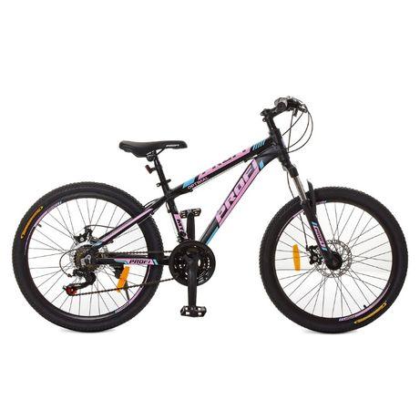 Велосипед горный подростковый 24 и 26 алюминий Profi Shimano Author