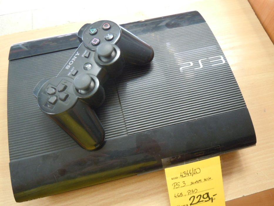 Konsola PS3 Super Slim + pad ! Lombard Dębica Dębica - image 1