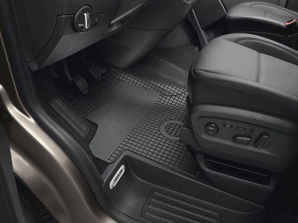 Dywaniki gumowe PLUS T6, 3 szt. Volkswagen oryginał nowe fv od ręki