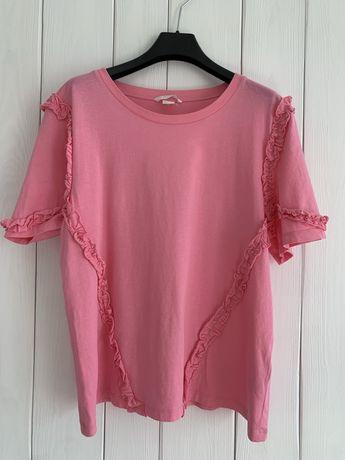 H&M różowy t-shirt M