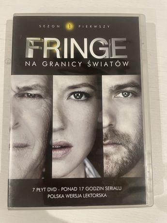 Fringe 7 plyt plyty dvd sezon 1