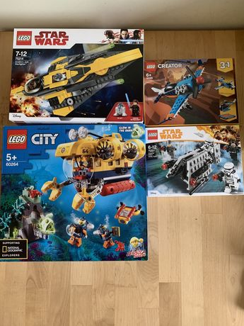 Nowe Lego city 60264  Star Wars 75207 i 75214 Creator 31099