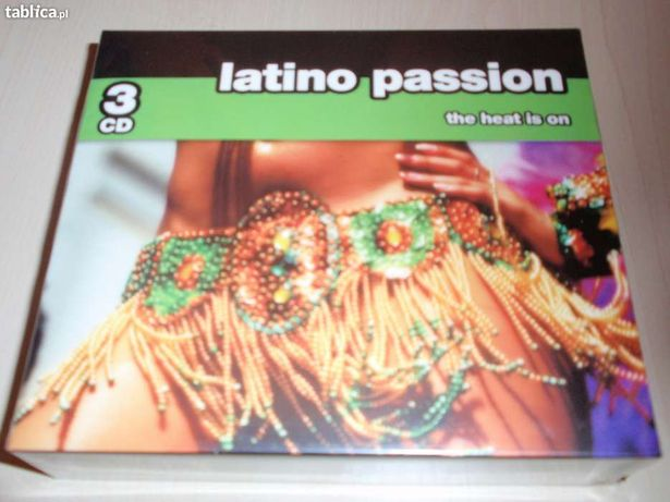 Latino Passion 3CD Nowy