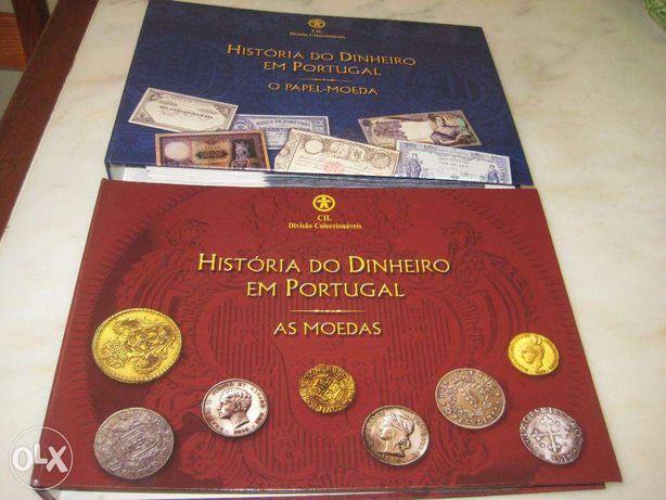 Coleção História dinheiro Portugal – As moedas,O Papel Moeda