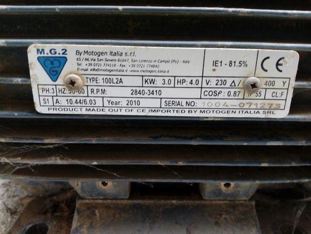 Motor trifasico 4cv