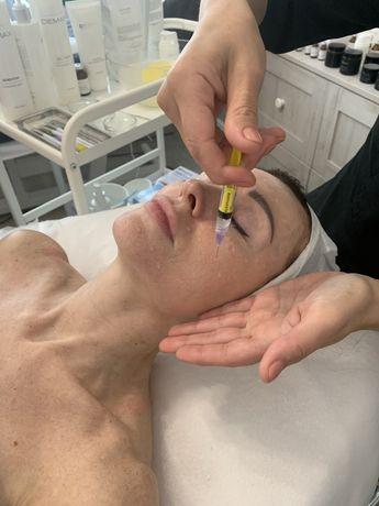 Косметолог, массаж лица, уз чистка, мезотерапия