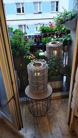Dwa Lampiony bambusowe nowe 27x39