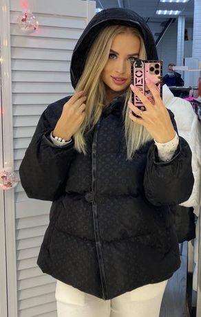 Куртка зимняя,копия луи витон!