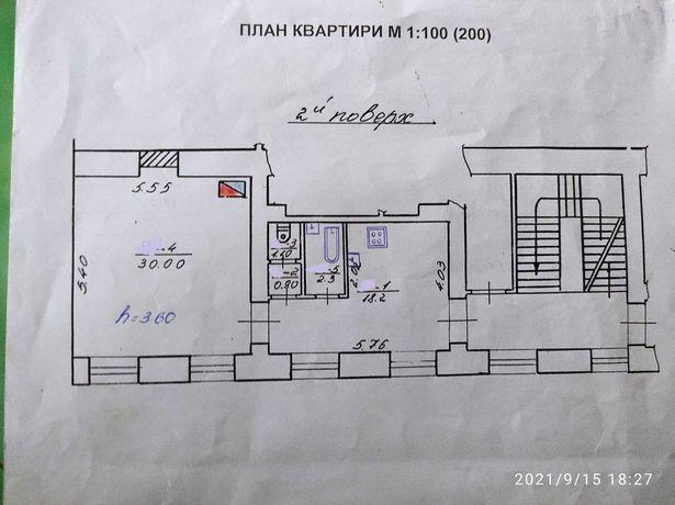 Продаж 1 кімнатна квартира на вул. Валова  (пл Міцкевича - центр)