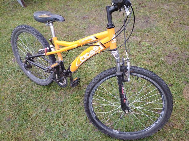 Sprzedam rower  typu cross kola 24 cale