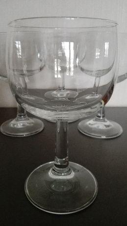 Kieliszki do wina, stare szkł PRL