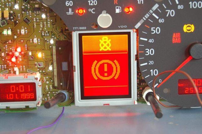 Naprawa Licznika Vdo Jaeger VW Audi Skoda Seat LCD Fis Polskie Menu