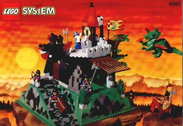 Lego System Castle 6082 Fire Breathing Fortress