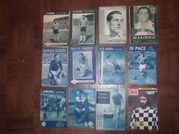 ÍDOLOS DESPORTO Sporting - Porto - Belenenses - Boavista Anos 50/60/70