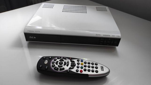 Dekoder telewizji satelitarnej na kartę nBox HDTv