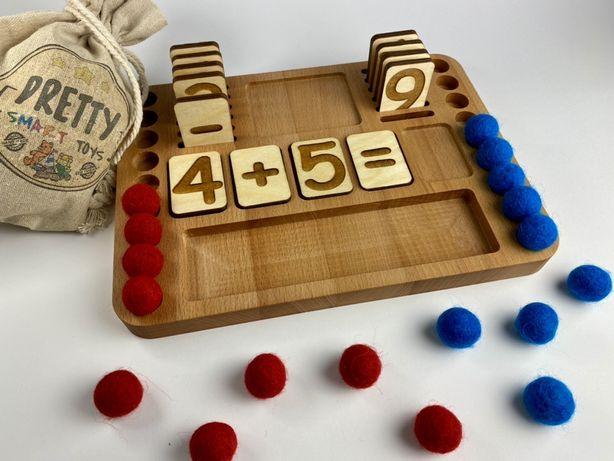 Montessori zabawka edukacyjna matematyczna Pretty Smart Toys