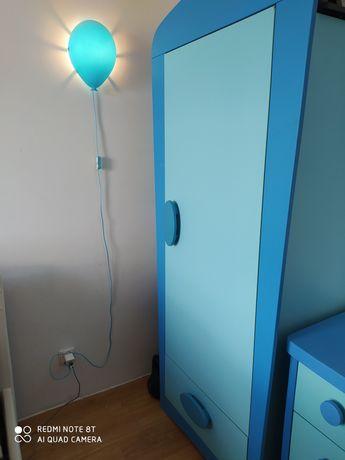 Szafka, komoda i lampka nocna Ikea mammut