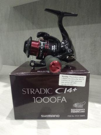Продам спиннинговую катушку Shimano Stradic CI4+ 1000FA