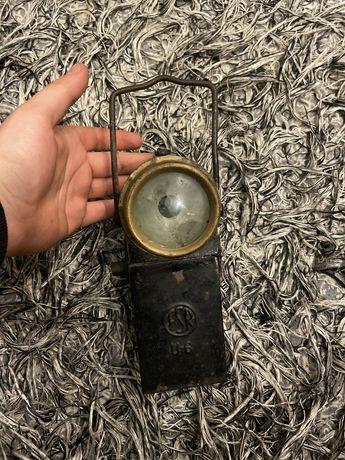 Lampa górnicza FSR U-6 58 rok