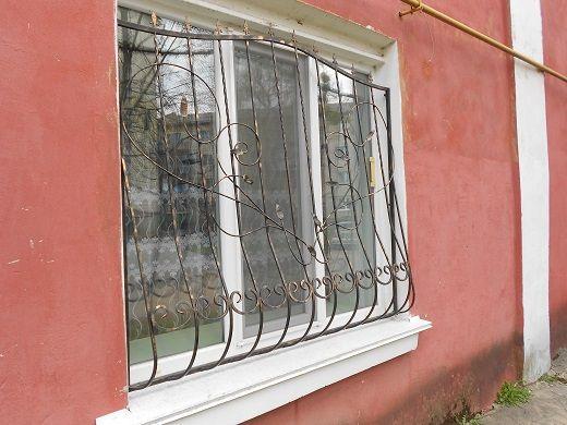 решетки на окна, забор кованый