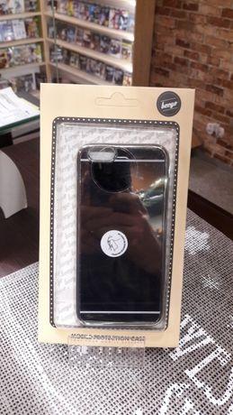 Beeyo etui iPhone 6 6s 7 efekt lustra różne kolory Zloty czarny + hart