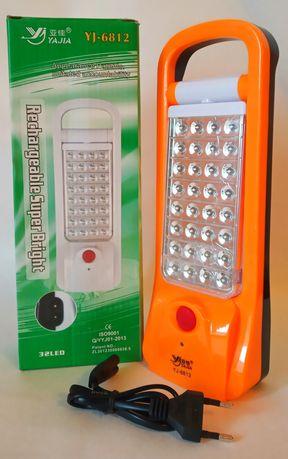 Ручной аккумуляторный фонарь yj 6812