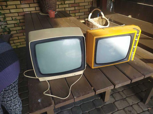 Telewizory 2 kolorowe i 1 czarnobiale