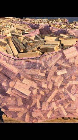 Drewno opałowe zrzyny dębowe