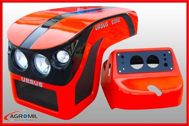 Maska ciągnikowa tworzywo Ursus C330 C-330 model 04 Nowość 2020